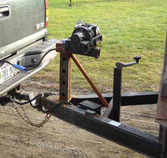 Car Trailer Winch >> Winch For Car Trailer Yesterday S Tractors